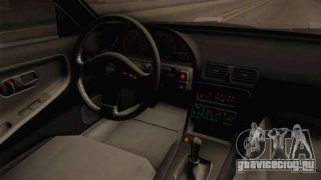 Nissan 240SX Rat Stance для GTA San Andreas вид изнутри