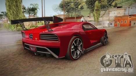 GTA 5 Truffade Nero Custom для GTA San Andreas вид слева