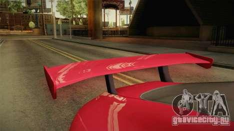 GTA 5 Dewbauchee Specter Custom IVF для GTA San Andreas вид изнутри