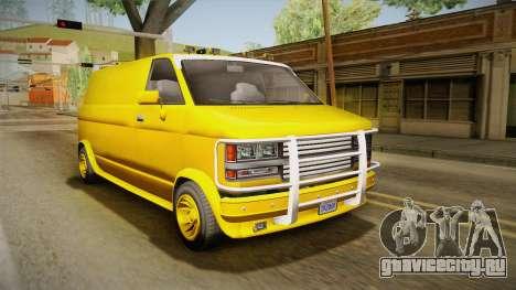 GTA 5 Declasse Burrito A-Team IVF для GTA San Andreas
