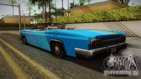3 New Paintjobs for Blade для GTA San Andreas вид слева