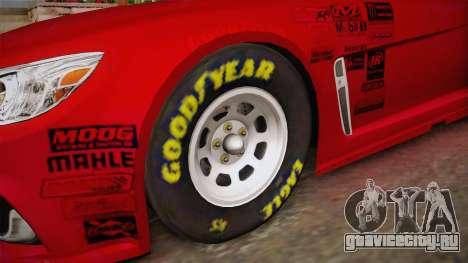 Chevrolet SS Nascar 42 Target 2017 для GTA San Andreas вид сзади