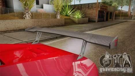 GTA 5 Truffade Nero Custom для GTA San Andreas вид изнутри
