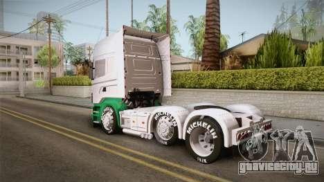 Scania R620 ONEXOX для GTA San Andreas вид слева