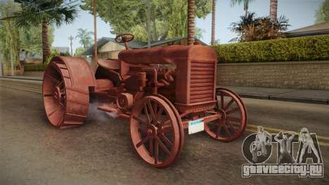 GTA 5 Tractor Worn для GTA San Andreas