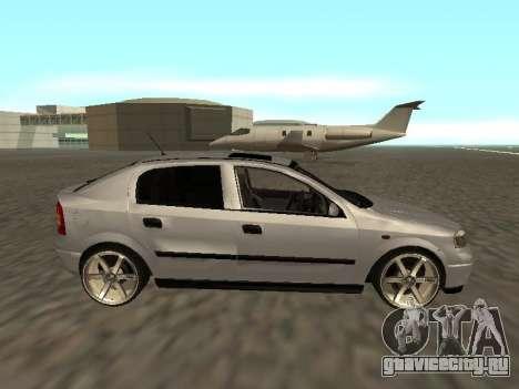Opel Astra G Armenian для GTA San Andreas вид слева