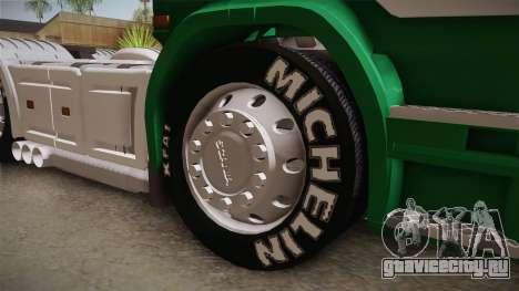 Scania R620 ONEXOX для GTA San Andreas вид сзади