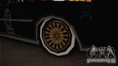 Ken Block Clover для GTA San Andreas вид сзади