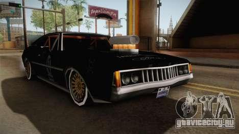 Ken Block Clover для GTA San Andreas вид справа
