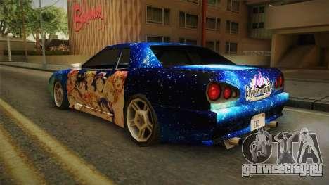 Lovelive Elegy Itasha для GTA San Andreas вид слева