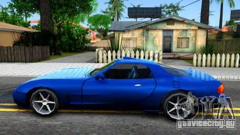 ZR-350 Update для GTA San Andreas вид слева