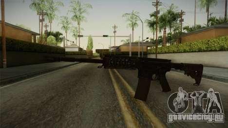 CoD 4: MW - M4A1 Remastered v3 для GTA San Andreas второй скриншот
