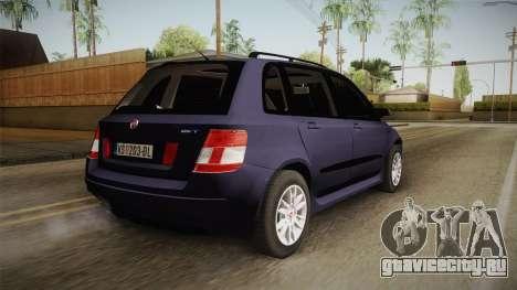 Fiat Stilo для GTA San Andreas вид слева