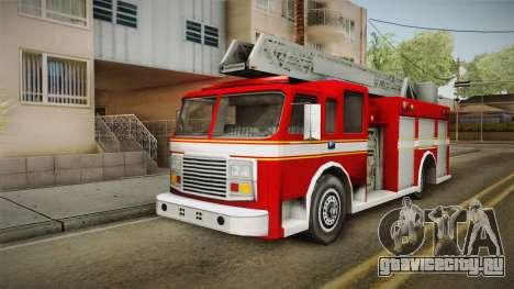 Driver: PL - Firetruck для GTA San Andreas
