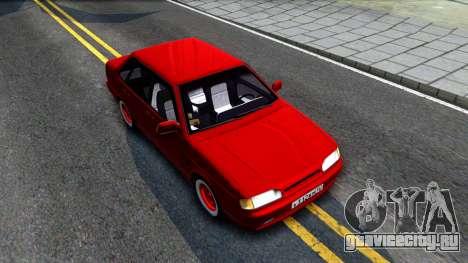 ВАЗ 2115 Retro Style для GTA San Andreas вид справа