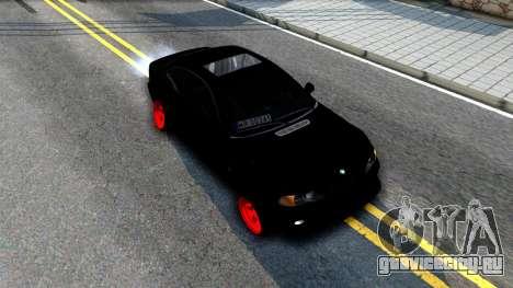 BMW 3-er E46 для GTA San Andreas вид справа