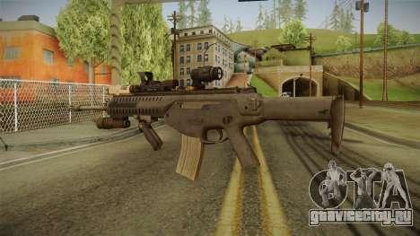 ARX-160 Tactical Expert для GTA San Andreas третий скриншот