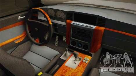 Nissan Patrol Y61 Police для GTA San Andreas вид изнутри