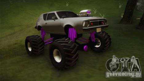AMC Gremlin X 1973 Monster Truck для GTA San Andreas вид справа