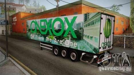 ONEXOX Trailer для GTA San Andreas вид слева