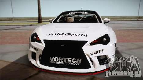 Scion FR-S Aimgain для GTA San Andreas вид справа