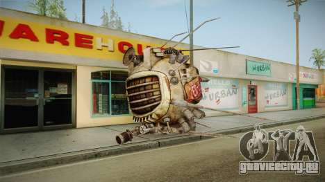 Fallout New Vegas - ED-E v1 для GTA San Andreas