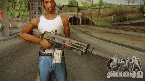Battlefield 4 - CZ-805 для GTA San Andreas третий скриншот