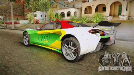 GTA 5 Progen Itali GTB Custom для GTA San Andreas вид сбоку