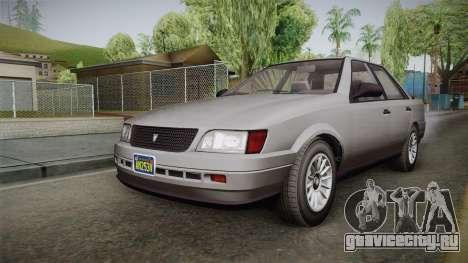 GTA 5 Vulcar Ingot Sedan IVF для GTA San Andreas