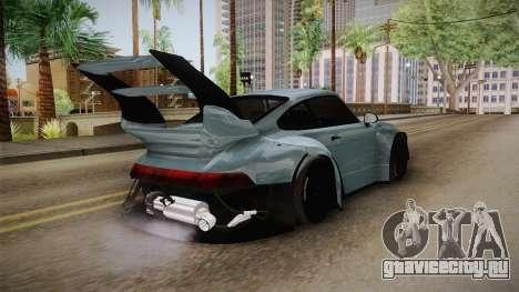 Porsche 993 RWB Rotana для GTA San Andreas вид справа