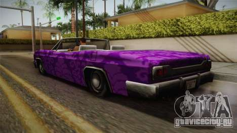 3 New Paintjobs for Blade для GTA San Andreas вид справа