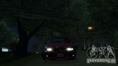 2003 Seat Leon Cupra R Series I для GTA San Andreas вид слева