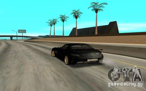 Mercedes-Benz SLS AMG для GTA San Andreas вид слева