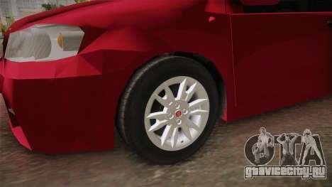 Fiat Punto Mk2 для GTA San Andreas вид сзади