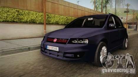 Fiat Stilo для GTA San Andreas вид справа
