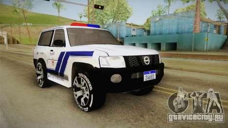 Nissan Patrol Y61 Police для GTA San Andreas