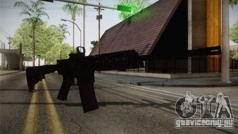 CoD 4: MW - M4A1 Remastered v2 для GTA San Andreas второй скриншот