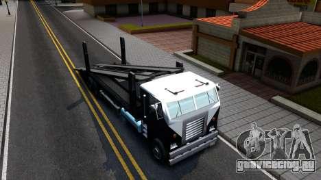 Hauler Packer для GTA San Andreas вид справа