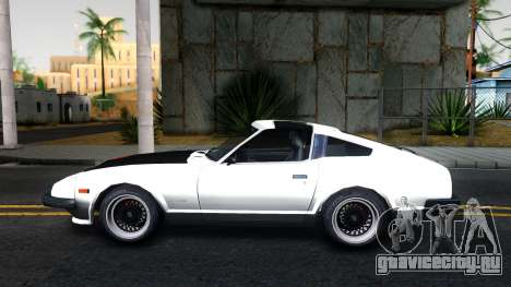 Nissan 280ZX Transformers G1 Bluestreak для GTA San Andreas вид слева