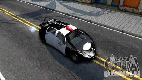 Alien Police San Fierro для GTA San Andreas вид справа