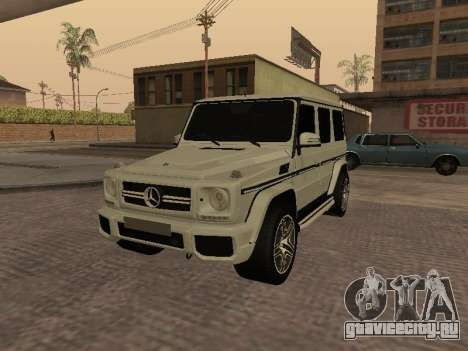 Mercedes-Benz G65 AMG Armenian для GTA San Andreas