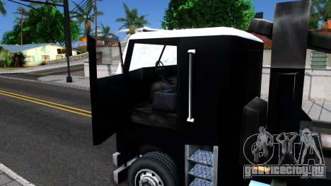 Hauler Packer для GTA San Andreas вид изнутри