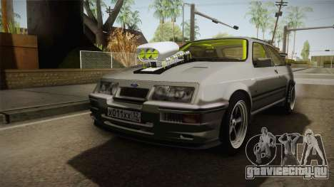 Ford Sierra RS500 Cosworth Drag для GTA San Andreas вид справа