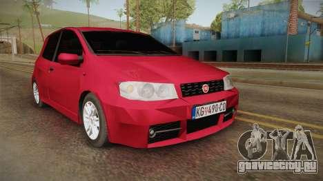 Fiat Punto Mk2 для GTA San Andreas