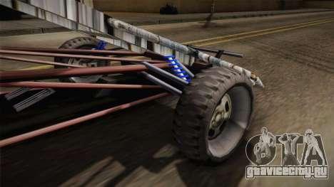Bandito Ramp Car для GTA San Andreas вид сзади