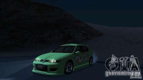 2003 Seat Leon Cupra R Series I для GTA San Andreas вид сзади