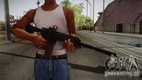 CoD 4: MW - M4A1 Remastered v2 для GTA San Andreas