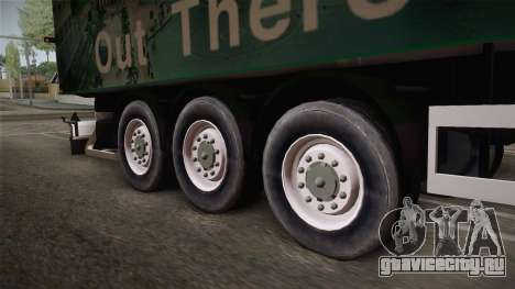 ONEXOX Trailer для GTA San Andreas вид сзади