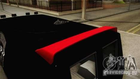 GTA 5 Declasse Burrito Lost MC IVF для GTA San Andreas вид сбоку
