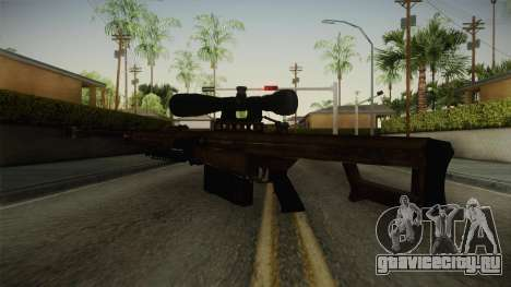 CoD 4: MW - Barrett M82 Remastered для GTA San Andreas третий скриншот